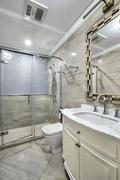 5-10万120平米三室两厅欧式风格卫生间欣赏图