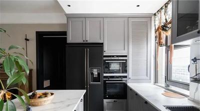 富裕型130平米三室两厅新古典风格厨房图片