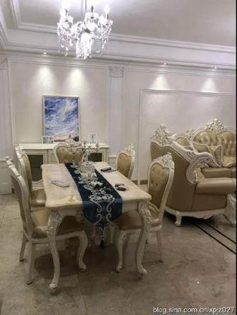 15-20万140平米三室两厅轻奢风格书房图