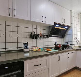 70平米三室一厅北欧风格厨房欣赏图