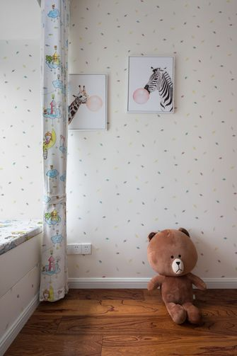10-15万90平米三室两厅美式风格青少年房图片
