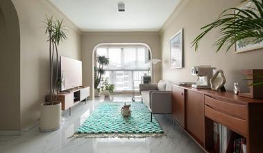 3-5万80平米公寓现代简约风格客厅图