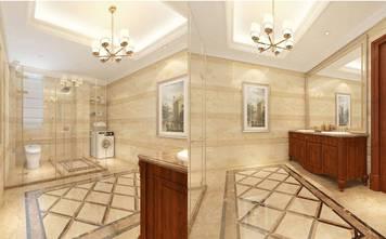 经济型140平米别墅欧式风格卫生间效果图