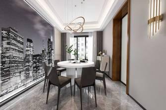 20万以上140平米三室两厅现代简约风格餐厅图片