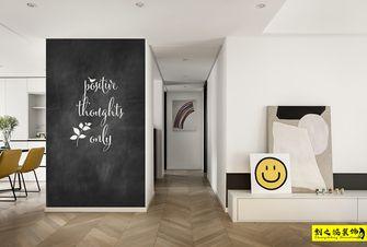 富裕型130平米三室两厅北欧风格走廊设计图