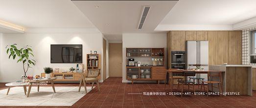 20万以上140平米三日式风格餐厅设计图