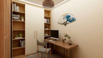 经济型90平米日式风格书房图片