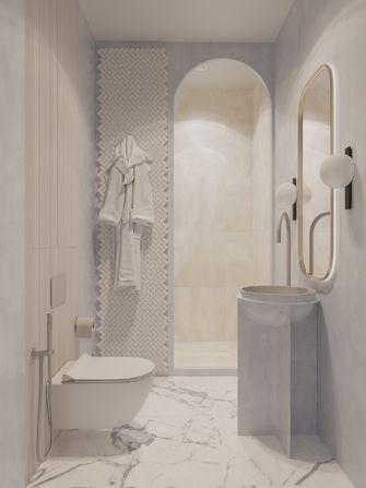 10-15万60平米一居室轻奢风格卫生间装修案例