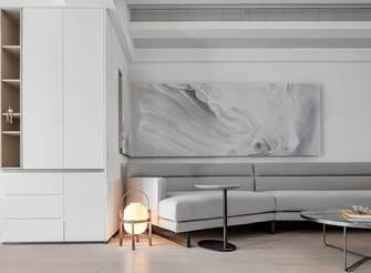 140平米三室一厅现代简约风格客厅装修案例