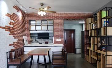 经济型120平米四室两厅工业风风格餐厅欣赏图