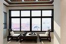 140平米三室两厅中式风格阳台欣赏图