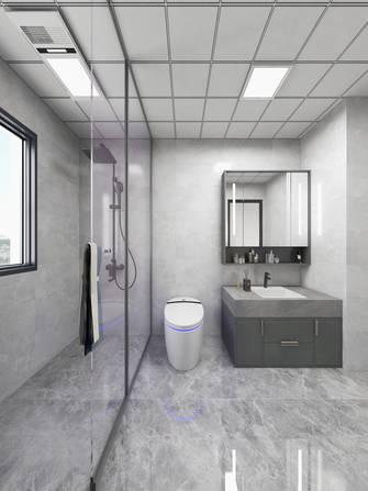 140平米公寓现代简约风格卫生间设计图