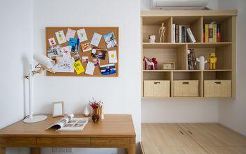 经济型110平米三室三厅北欧风格卧室图