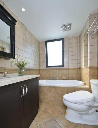 经济型120平米三室两厅混搭风格卫生间效果图