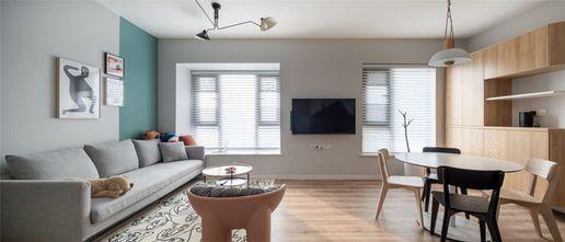 10-15万90平米三室一厅北欧风格客厅效果图