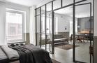 110平米一室一厅工业风风格卧室装修案例