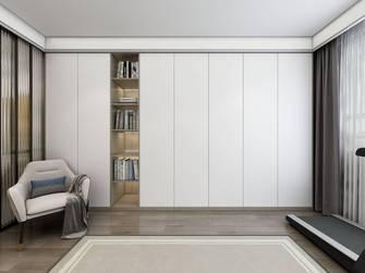 豪华型120平米一居室现代简约风格书房欣赏图