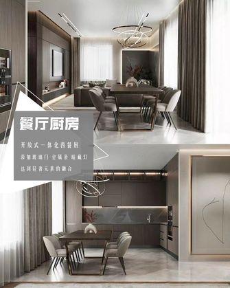 20万以上140平米四室两厅轻奢风格餐厅欣赏图
