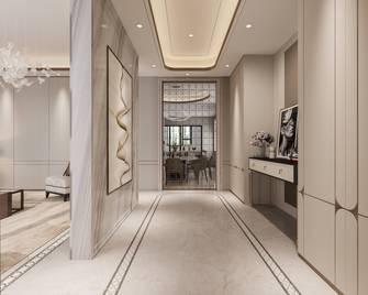 豪华型140平米三室两厅轻奢风格走廊效果图
