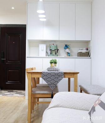 经济型60平米一室一厅日式风格餐厅图片