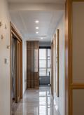 豪华型140平米三室两厅中式风格走廊图片大全