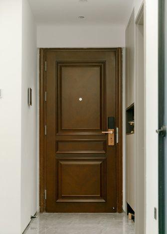 富裕型100平米三室一厅现代简约风格玄关图片