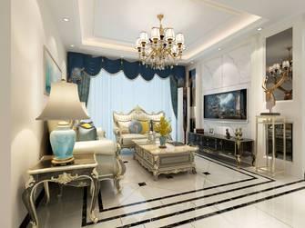 100平米四室两厅欧式风格客厅图