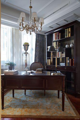 90平米欧式风格书房图