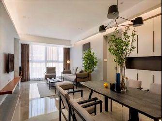 15-20万120平米三室两厅现代简约风格餐厅装修案例