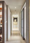 富裕型110平米三新古典风格走廊装修效果图