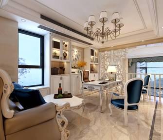20万以上140平米别墅欧式风格书房装修效果图