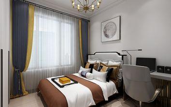 5-10万70平米三室两厅中式风格卧室装修案例