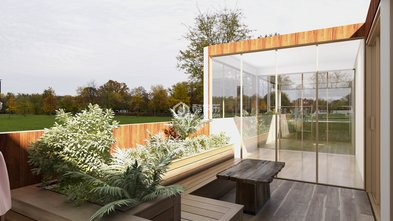 130平米三室三厅北欧风格其他区域设计图