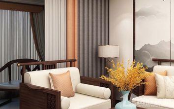 15-20万100平米三室一厅中式风格客厅装修案例