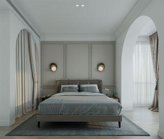 豪华型80平米三室一厅法式风格卧室装修图片大全