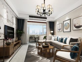 经济型120平米三室三厅混搭风格客厅效果图
