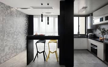 富裕型110平米三室两厅北欧风格厨房装修图片大全