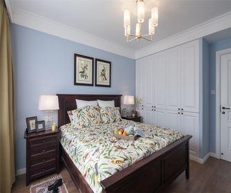 经济型60平米一室一厅美式风格卧室装修效果图