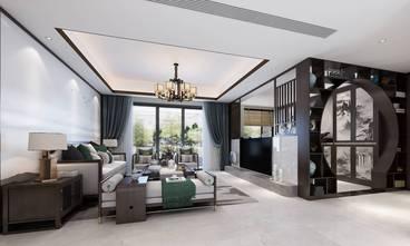 15-20万140平米中式风格客厅装修效果图