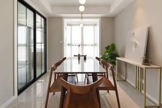 经济型120平米三室两厅现代简约风格餐厅欣赏图
