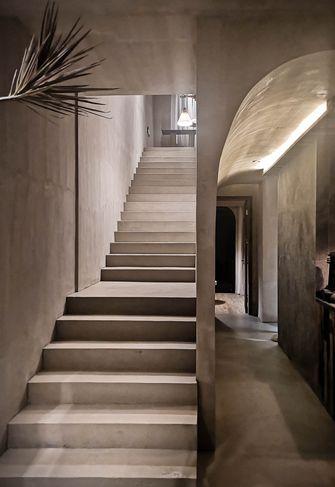 140平米别墅日式风格楼梯间设计图