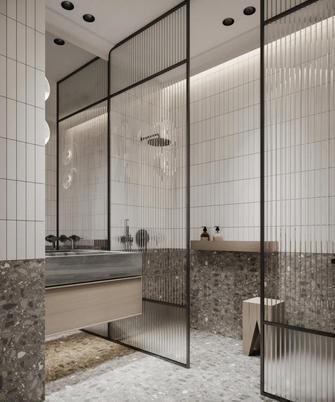 富裕型120平米三现代简约风格卫生间装修效果图