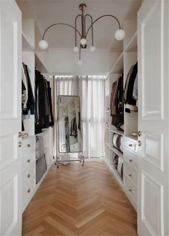 5-10万140平米四室两厅北欧风格衣帽间装修效果图