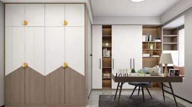 140平米三现代简约风格书房装修案例