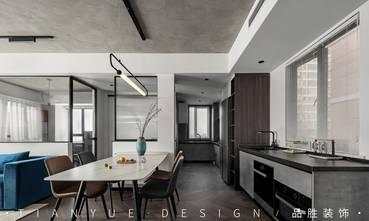富裕型140平米四室两厅工业风风格餐厅装修案例