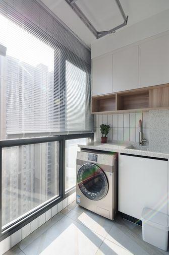 80平米三室两厅现代简约风格阳台欣赏图