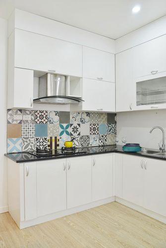 20万以上100平米三室两厅田园风格厨房图片