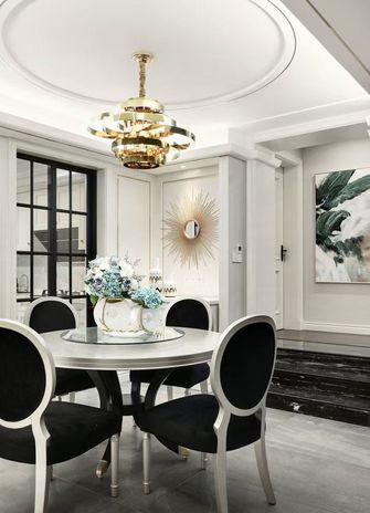富裕型130平米三室两厅现代简约风格餐厅设计图