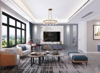 20万以上120平米三室两厅美式风格客厅装修案例