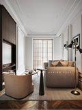 豪华型140平米四室两厅欧式风格书房图片
